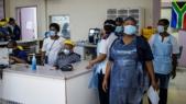 Personnel de santé Afrique du sud
