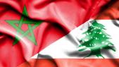 Drapeaux Maroc Liban