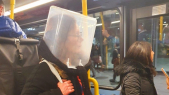 Londres coronavirus métro