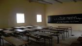 Salle de classe vide - Sénégal