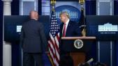 Donald Trump évacué Maison Blanche