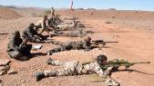 Soldats FAR Maroc