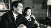 Les acteurs Faten Hamama et Omar Sharif, icônes de l'âge d'or du cinéma égyptien.