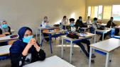 Rentrée scolaire - Salle de classe - Covid-19 - Coronavirus - Gestes barrières - Masques