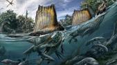 Le dinosaure Spinosaurus, un géant aquatique