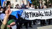 Manifestations - Istanbul - caricatures