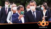 """Cover_Vidéo: Darmanin visite le Musée Mohammed VI en qualifiant le Maroc de pays """"ami et frère"""""""