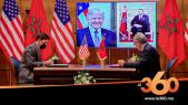Cover_Vidéo:  Maroc/Etats-Unis: signature d'un accord historique en matière de défense