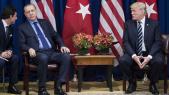 Lors d'une précédente rencontre entre le président turc Recep Tayyip Erdogan et son homologue américain Donald Trump