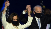 Kamala Harris et Joe Biden - Victoire