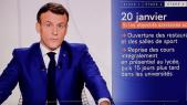 Macron - Allocution télévisée