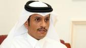 Le ministre qatari des Affaires étrangères, Mohammed ben Abderrahmane Al-Thani