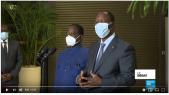 Vidéo. Côte d'Ivoire: ce que Ouattara et Bédié se sont dit à leur rencontre inattendue