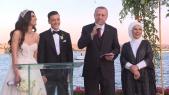 Erdogan au mariage d'Ozul