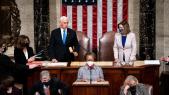 Validation élection Joe Biden - Etats-Unis - Nancy Pelosi - Mike Pence
