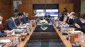 Lors de la réunion du Conseil d'orientation stratégique de l'Agence MCA-Morocco, le mardi 26 janvier 2021 à Rabat