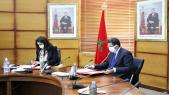 M'Hammed Abdenabaoui, procureur général du Roi, président du ministère public et Nadia Fettah Alaoui, ministre du Tourisme, de l'artisanat et du transport aérien.
