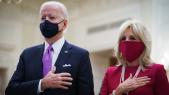Joe et Jill Biden - Etats-Unis - Messe virtuelle