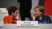 Angela Merkel - Annegret Kramp-Karrenbauer - CDU - Allemagne