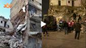 cover: شاهد لحظة انهيار منزلين بالدار البيضاء