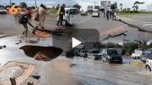 cover vidéo :Le360.ma •فوضى بشوارع البيضاء بسبب مخلفات الفيضانات