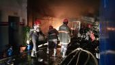 explosion au sein d'une usine à Tanger (photo 2)