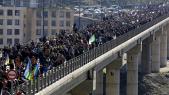 Diapo et Vidéos. Algérie: des milliers de manifestants pour l'anniversaire du Hirak