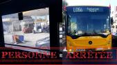 autobus casablanca vandalisé