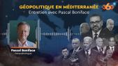 Cover : Podcast l Géopolitique en méditerranée : Entretien avec Pascal Boniface