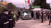 Tanger - Drame atelier clandestin - Accident électrocution - Remise des dépouilles aux familles
