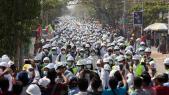Birmanie - Manifestations
