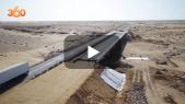 Cover_Vidéo: تزنيت-الداخلة: الأشغال متواصلة قُبيْل إنشاء أطول جسر بالمملكة على وادي الساقية الحمراء