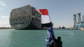 Ever Given - Canal de Suez - Egypte - Déblocage