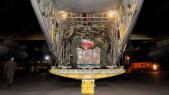 Le roi Mohammed VI a envoyé un don personnel de 90 tonnes d'aides alimentaires destinées aux forces armées libanaises et au peuple libanais vendredi 16 avril 2021.