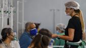Brésil - Coronavirus - Hôpital - Sao Paulo