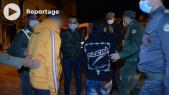 Cover vidéo - Couvre-feu nocturne - Casablanca - violation - état d'urgence sanitaire