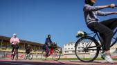 Gaza - Femmes - Vélos - Vie quotidienne