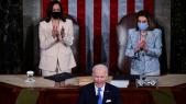 Joe Biden - Congrès - 100 jours - Nancy Pelosi - Kamala Harris