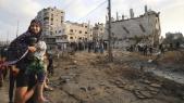 Gaza - Frappes aériennes israéliennes -