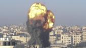 Gaza - Bombardement israélien - Israël - Palestine