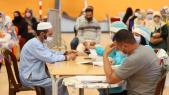 Centre de vaccination à Marrakech