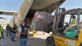 Aide humanitaire Maroc - Palestine - Arrivée Amman