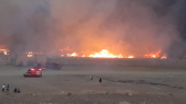 Incendie souk de Zagora