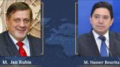 Bourita s'entretient avec l'envoyé spécial du SG de l'ONU pour la Libye sur la Conférence de Berlin II