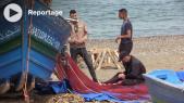 Cover : غياب التجهيزات والأزبال يؤرق الصيادين بمنطقة أزلا بتطوان