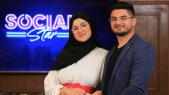 "cover: ترقبوا اليوتوبر إكرام الگط وزوجها حسام في حلقة مشوقة من برنامج ""سوشل ستار"""