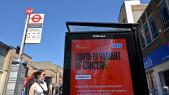 Variant - Coronavirus - Covid-19 - Londres - Station de bus