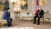 ministre des Affaires étrangères - Nasser Bourita - président Tunisie - Kaïs Saïed