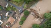 Allemagne - Inondations - Intempéries - Disparus - Ouest de l Allemagne - Echtershausen