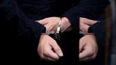 Arrestation Menottes Criminalité Police